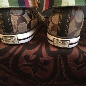 Coach Shoes - Women's coats converse style sneakers